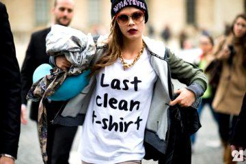 24 hot girls wearing cool t-shirts