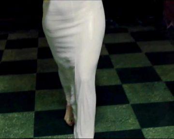"A Very Bouncy Jennifer Lawrence From ""American Hustle"""