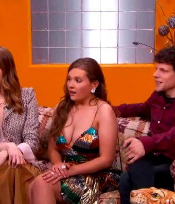 Abigail Breslin – Huge Plot Debut On 'Jimmy Kimmel Live!'