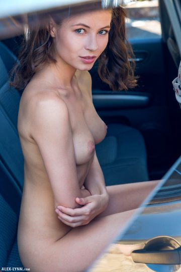 Alex-lynn Hilary – In The Car