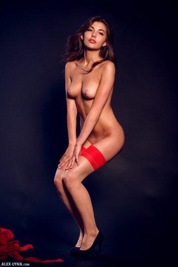 Alex Lynn Monika Dee Red Black