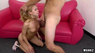 Alina West Drools All Over Cock While Being Face Fucked