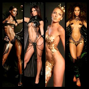 All Outfits Done In Tape