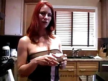 Allison hot mom play with food Compilation