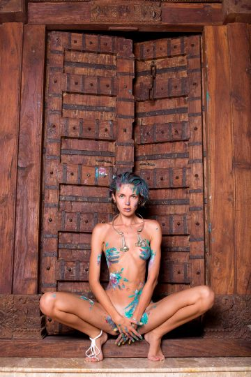 Alya Body Painting