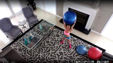 Anal In Yoga Ball