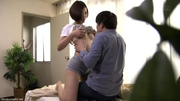 Asahi Mizuno – My Girlfriend's Big Sister Tempts Me With Her Big Tits