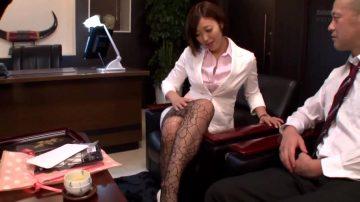 Asahi Mizuno – Seductive Office Lady