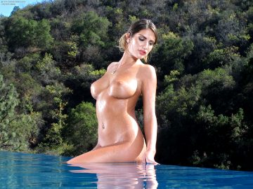 August Ames Collection – In The Crack