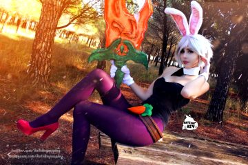 Battle Bunny Riven Cosplay! – By Kate Key