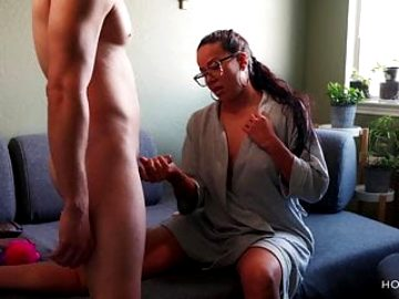 Big ass Latina fakes being sick to fuck her pussy doctor