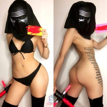 Bikini Kyla Ren On/Off From Star Wars – By Felicia Vox