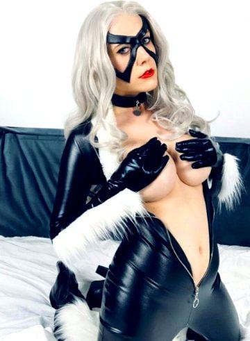 Black Cat By Regina Cosplay