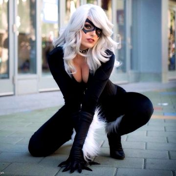 Black Cat From Marvel Comics By Vixence
