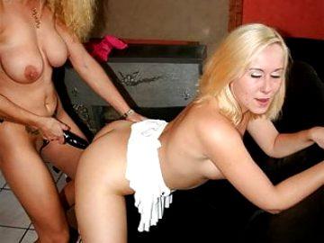 Blondes qui aiment s'enfiler