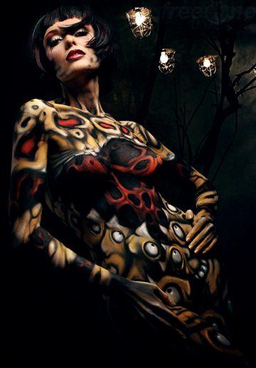 Body Painting By Evgeny Freeone Deviantart