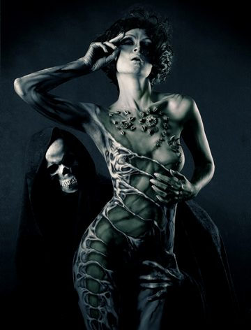 Body Painting By Evgeny Freeone Deviantart