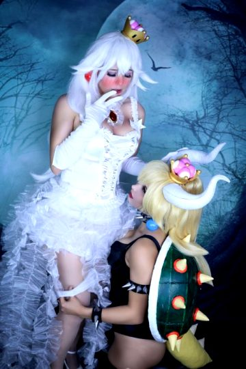 Bowsette Taking Off Boosettes/Booettes Pantys – By Gunaretta And Lysande