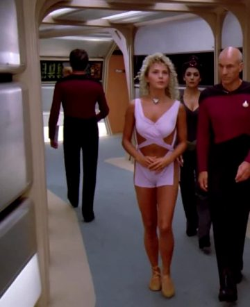 Brenda Bakke Plots On Star Trek TNG