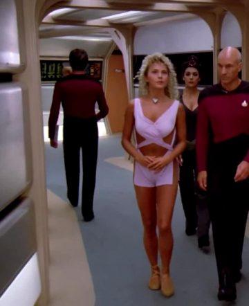 Brenda Bakke Plots On Star Trek TNG