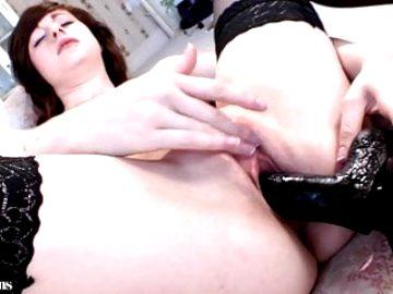 British Teen Kaitlin 3, wanking in lingerie