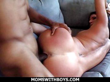 Busty MILF Kendra Fucks A Big Black Cock