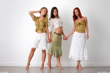 Caprice, Ariel, Carisha Friends Forever