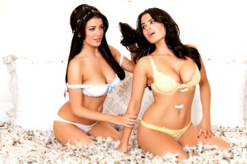 Carla And Melissa Howes Nude Erotic Pictures At