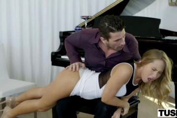 Carter Cruise Spanked By The Piano Teacher
