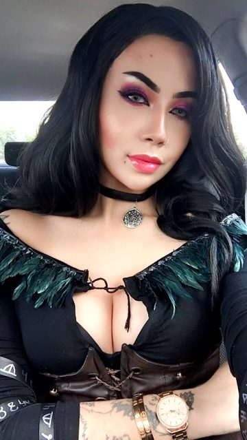 Casual Yennefer Alt Outfit Cosplay From The Witcher 3 By Felicia Vox