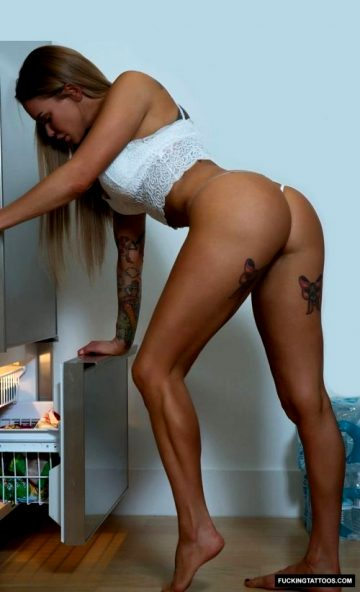 Checking The Freezer