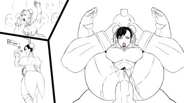 Chun-Li Getting The Full Anal Nelson By Anythinggoeshentaiartist