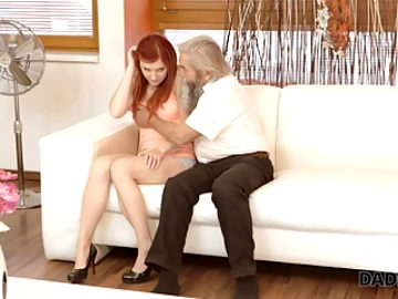 DADDY4K. Adorable Vanessa Shelby comes closer to her bf