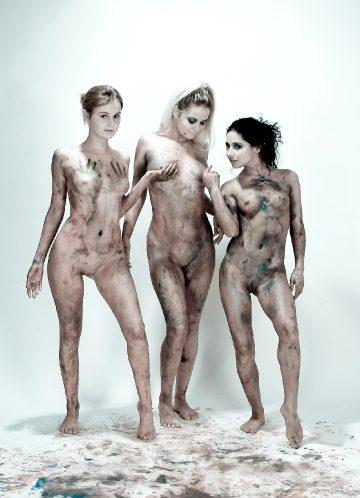 David-nudes Rima Alla Riyeesa My Three Graces