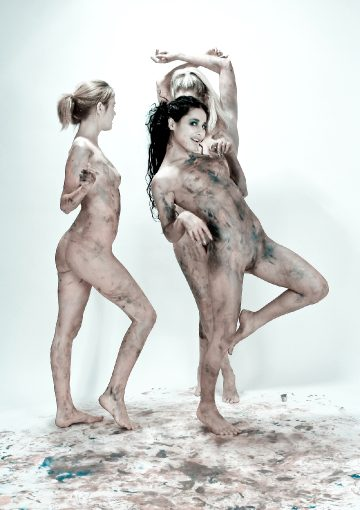 David-nudes Rima Alla Riyeesa My Three Graces