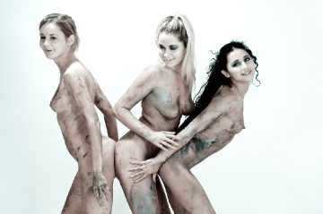 David Nudes Rima Alla Riyeesa My Three Graces