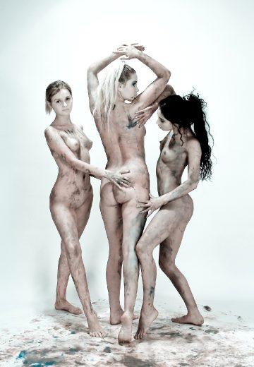 David Nudes Rima Alla Riyeesa My Three Graces