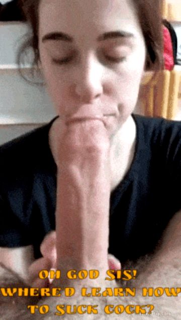 deepthroating bros cock