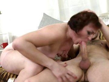 Desperate mature moms get hard sex from sons