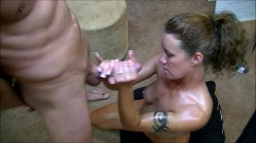 Dirty Talking Handjob