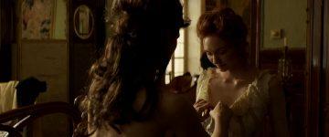 Eleanor Tomlinson Topless In Colette