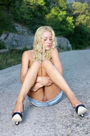 Elizaveta Voronina – Blonde Goddess Divine Legs (part 2)
