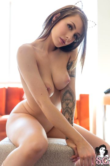 Ellie – Pink Leg Warmers – Set Of The Day – Suicidegirls Set Of The Day High Resolution File Archive New