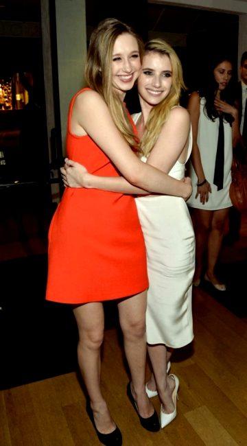 Emma Roberts And Taissa Farmiga