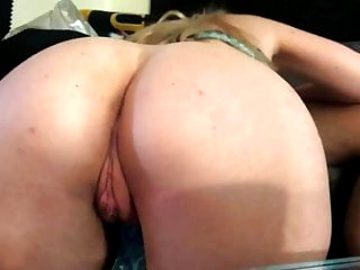 Exposing my ass and pussy for another cock to join us