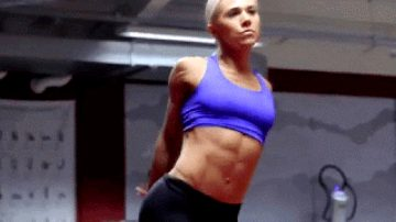 Female Six Pack Abs Perfect Workout