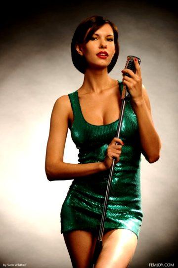 Femjoy.com Svenwildhan Green Mini Dress Juicybabe