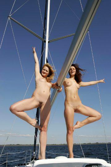 Femjoy Femjoy – Linsey And Katrin – Sail Away