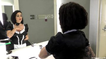 French Maid Arabelle Raphael – Dick Drainers