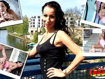 GERMAN SCOUT – FIRST TIME ANAL FOR MILF AT STREET CASTING